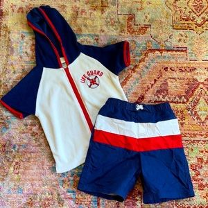 Boys 4T Swim Outfit